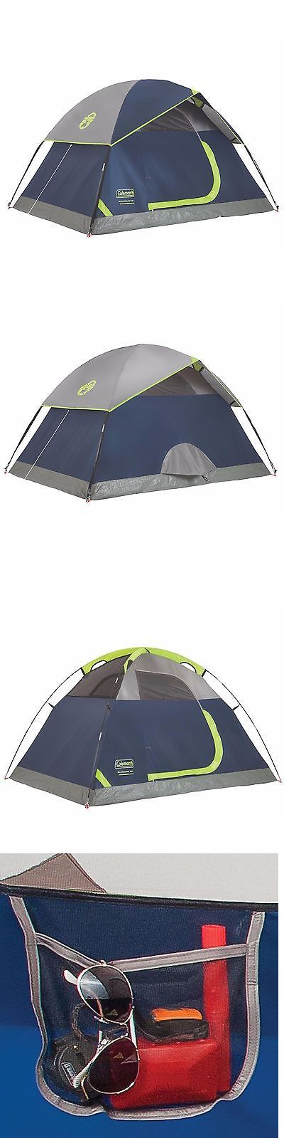 Tents 179010: Coleman Sundome 2 Person Outdoor Hiking Camping Tent W/ Rainfly Awning | 7 X 5 BUY IT NOW ONLY: $49.99