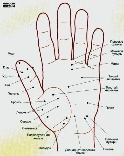 Волшебные точки на теле человека.