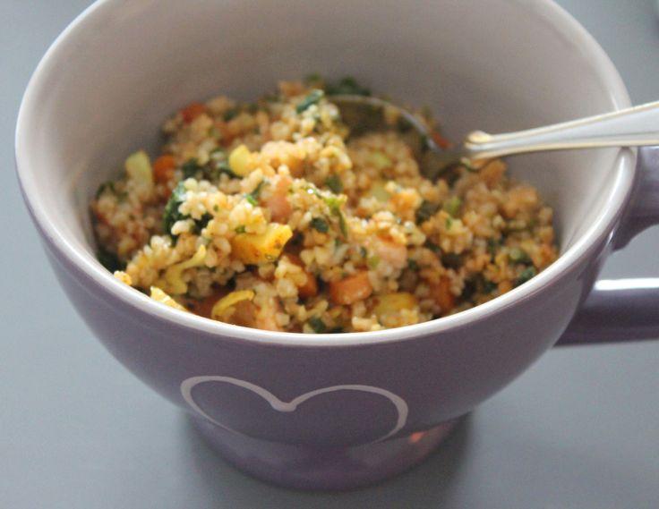Hirs- och quinoabowl med lax och stekta grönsaker | anniesfodmap - recept och pepp om IBS och FODMAP