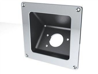 Square Diesel Exhaust Fluid Filler Neck Protector / Bezel 45 Degree