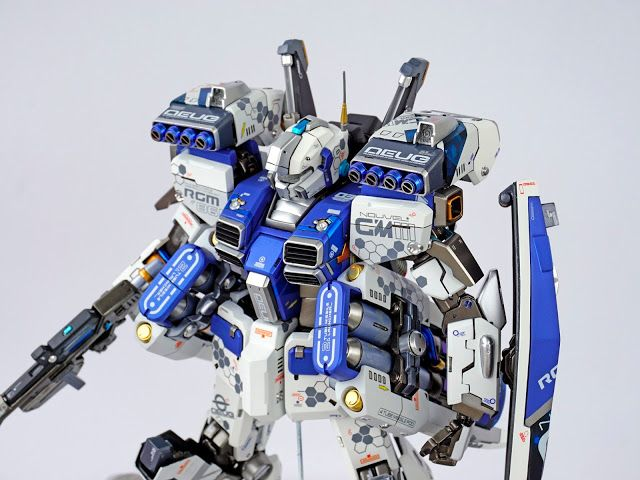 Custom Build: G-system 1/72 GM Nouvel Commander Type Custom - Gundam Kits Collection News and Reviews