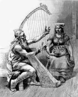 Rig (fornnordiska Ríg eller Rígr) är namnet på en fornnordisk gud i Eddadikten Rigstula (fornnordiska Rígsþula - Rígs visa) som beskriver hur Rig avlar fram de olika samhällsklasserna (trälar, karlar och jarlar). I inledningen till dikten står det att Rig är ett annat namn för Heimdall, som också beskrivs som mänsklighetens fader i Völuspa. I Rigstula berättas hur Rig, som är Heimdall i skepnad av en vandringsman, besökte olika hem på jorden och låg med kvinnorna på gårdarna. Med Edda…