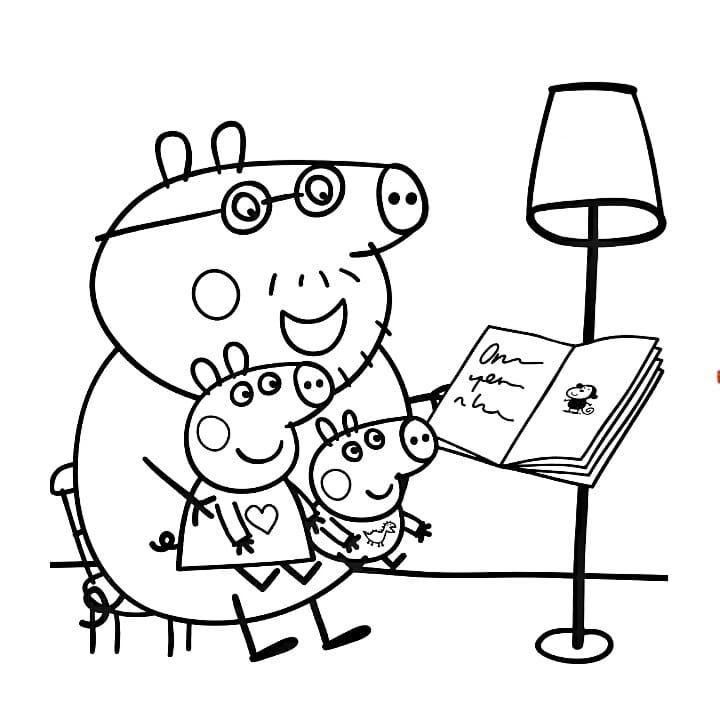 Peppa Pig Coloring Page Peppa Pig Coloring Pages Coloring Pages Quote Coloring Pages