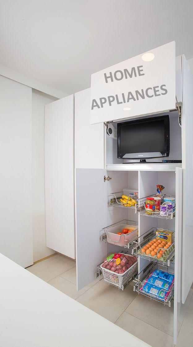 Cocinas modernas #cocinas #kitchen #design  #Home #homeappliances #Electrodomesticos #Art #Cajones #Persianas