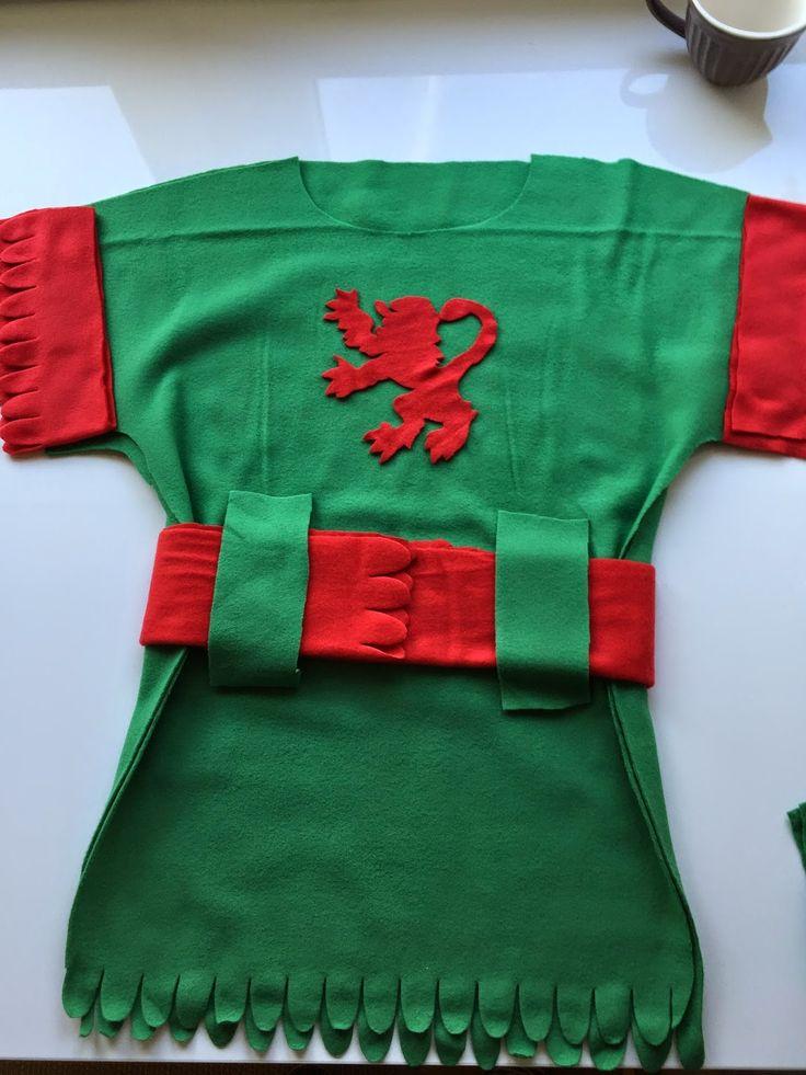 Ritterkostüm, Ritter Kostüm selber nähen, kostenlose Anleitung für ein Ritter Kostüm, Kostüm selber nähen, Karneval, Kinderkostüm,