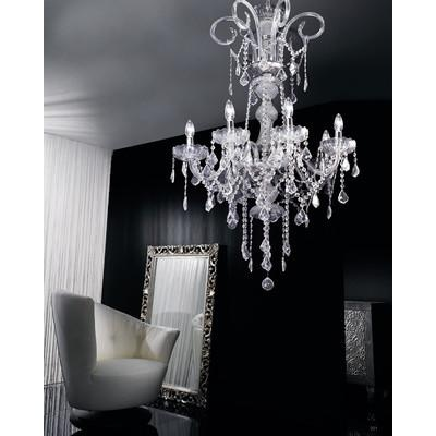 Cool! :)) Pin This & Follow Us! zBrands.com is your Light Fixture Gallery ;) CLICK IMAGE TWICE for Pricing and Info :) SEE A LARGER SELECTION chandeliers at http://www.zbrands.com/Chandeliers-C35.aspx - #homeimprovement #homedecor #lighting  #lights #lightandfixture #chandeliers -  Cristalstrass Chandeliers - Hollywood 6 Light Crystal Chandelier