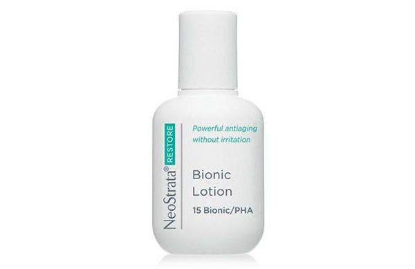 If you have mature skin that is also eczema-prone try the NeoStrata Bionic Lotion. Safe to use on the face and body, it contains Vitamin E and Lactobionic Acid to minimise dry patches.