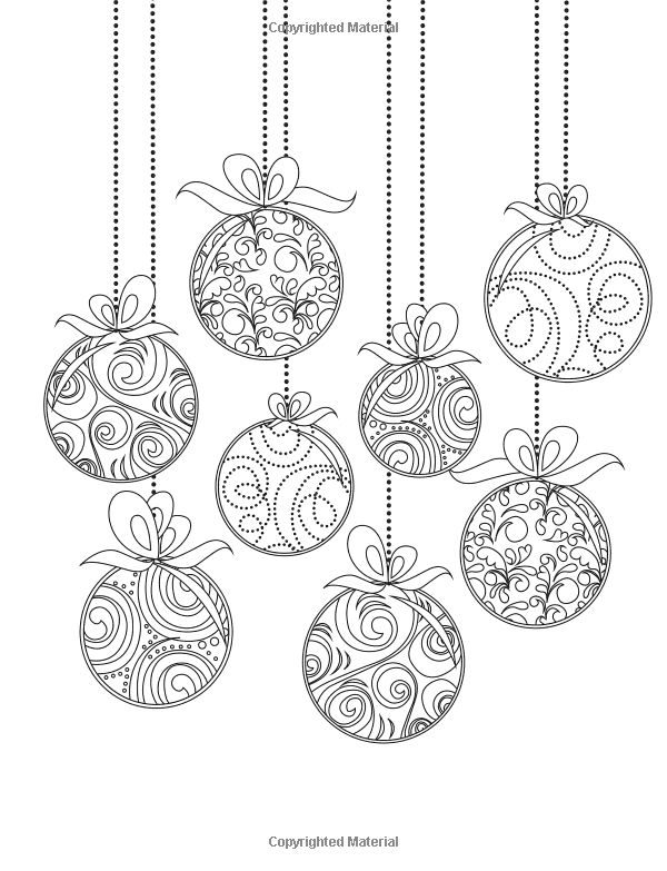 14 Best Photos Of Patterns For Paper Christmas Ornaments