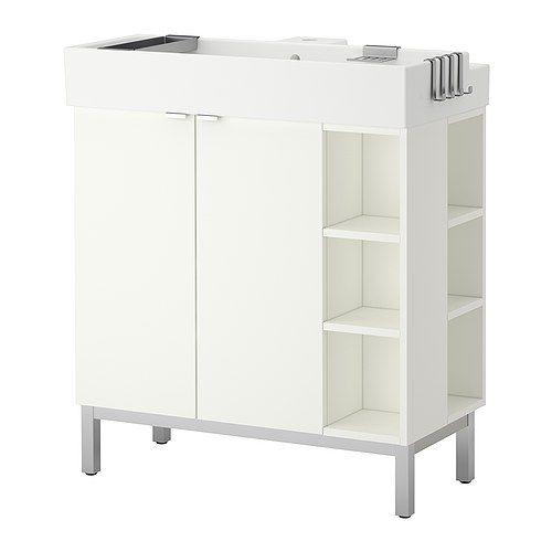 """Ikea Badezimmermöbel Waschbeckenschrank ~ Über 1000 Ideen zu """"Badezimmerschrank Weiß auf Pinterest"""