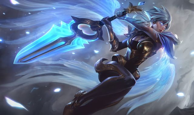 Surrender at 20: 6/5 PBE Update: Dawnbringer Riven and Nightbringer Yasuo splash art & special loading screens