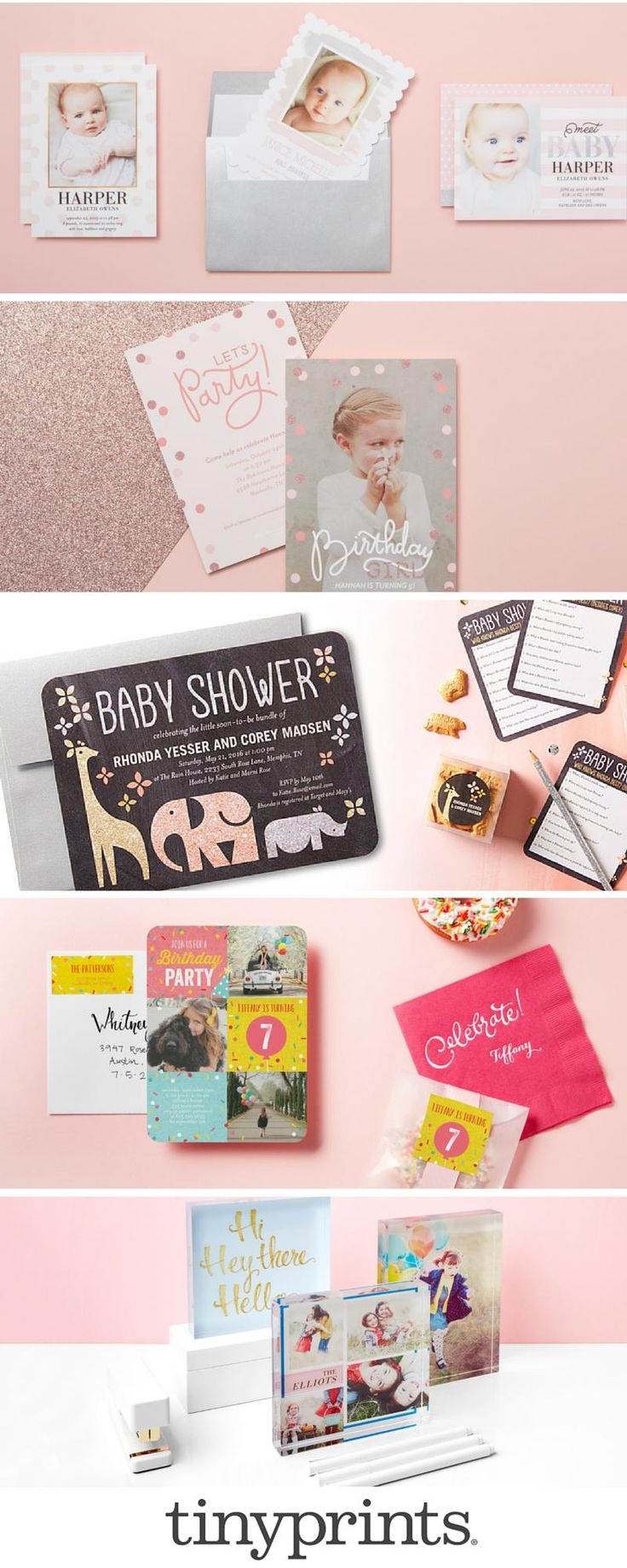 Your baby pink stationery inspiration is here