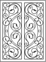 10 Best Wrought Iron Door Inserts Images On Pinterest