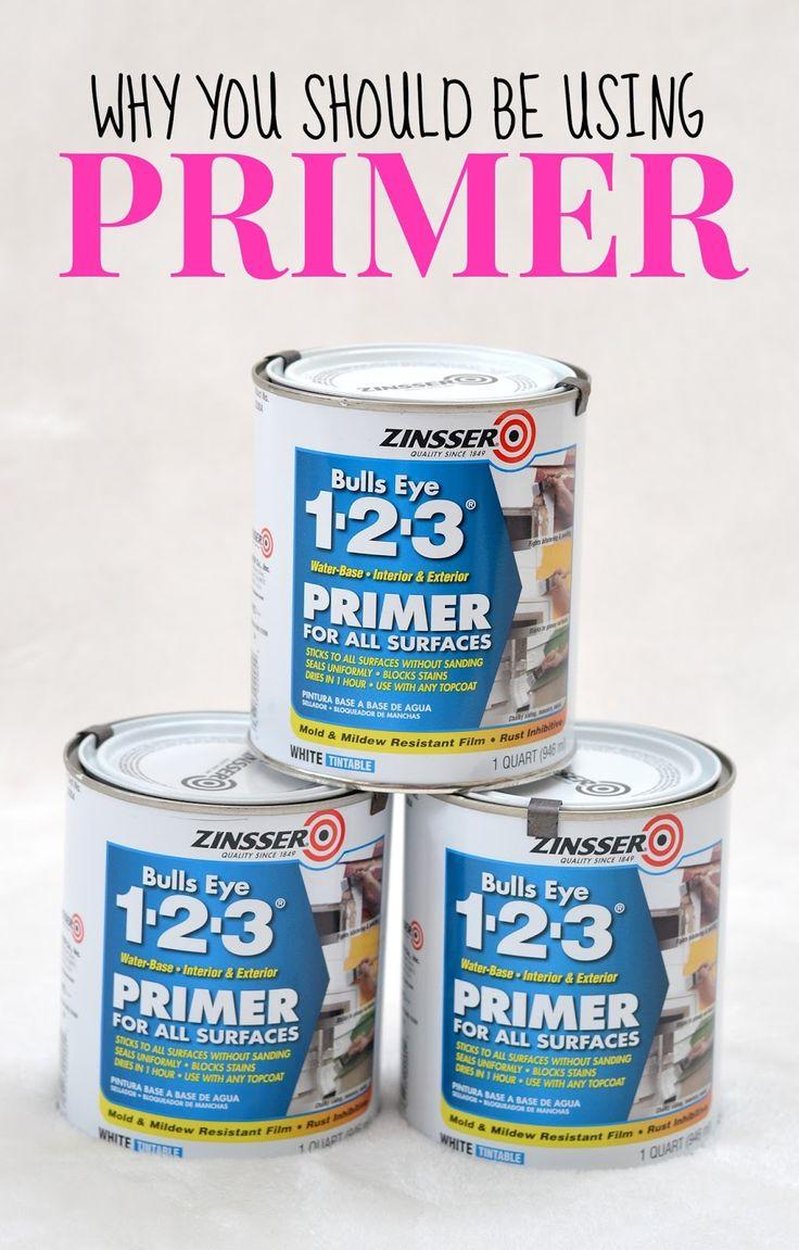 Tips For Painting Furniture Use Zinsser Bulls Eye 1 2 3