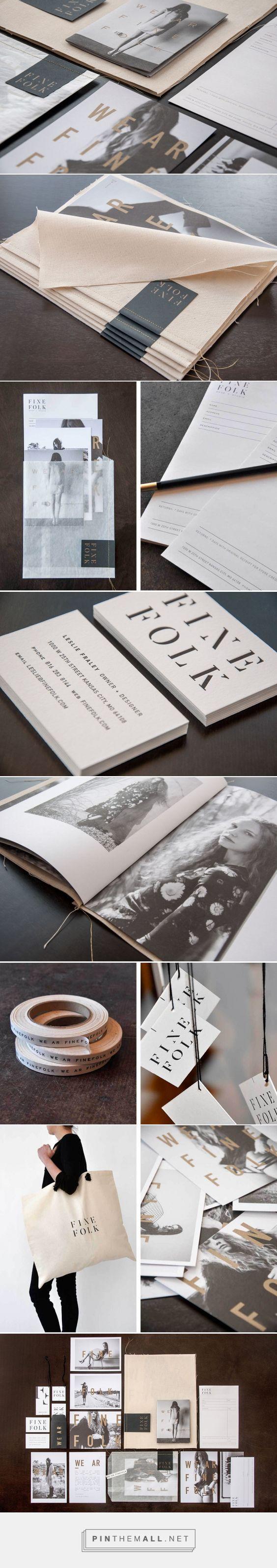 nice branding — Finefolk, by Design Ranch