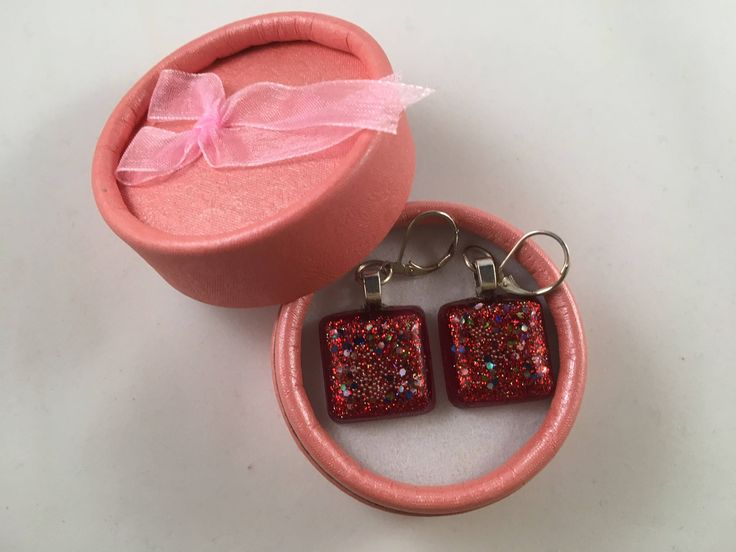 A personal favourite from my Etsy shop https://www.etsy.com/uk/listing/579631317/red-sparkling-hoop-earings