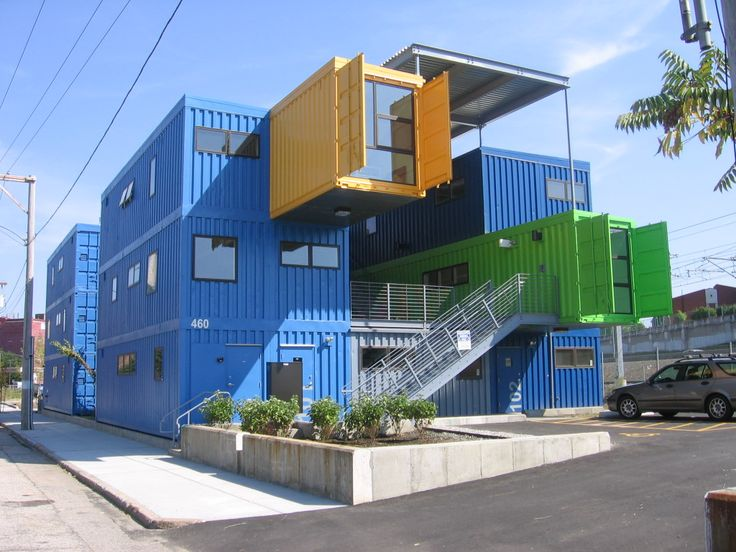 Providence Rhode Island The Box Office Project, Which Uses Shipping  Containers To Make Class A Office Space That Will Use Less Energy Than Your  Average ... Part 98