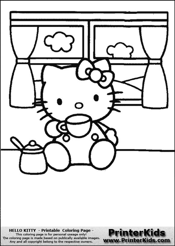 10 best Tattoo images on Pinterest Hello kitty coloring, Hello - best of happy birthday nana coloring pages