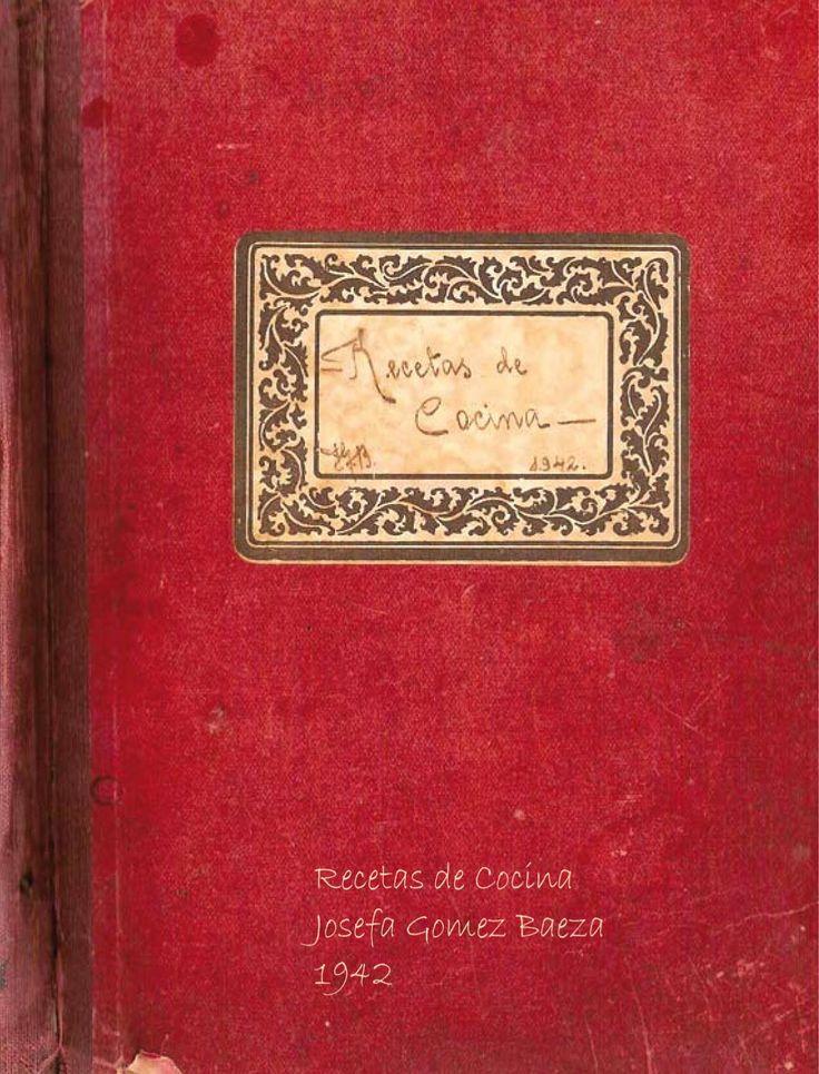 Recetas Hoya Meleque Colección de recetas de mi abuela