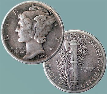 The dime. I remember it would get me an ice cream off the good humor truck. 1950s-1960s.