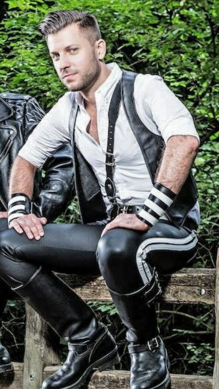 Gay Men Wearing Leather 83