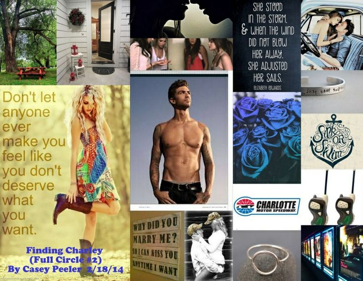 Finding Charley (Full Circle #2) Collage
