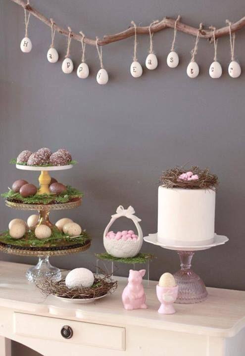 Déco de Pâques  Sweet Table & Décor multiple  Pinterest