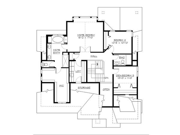 Cottage Style House Plan 4 Beds 2 5 Baths 2388 Sq Ft Plan 132 567 Cottage Style Homes Cottage Style House Plans Beach Cottage Style