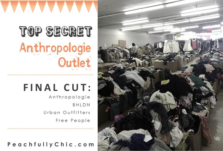 The full recap of the Top Secret Anthropologie Outlet Store  Lord help me, Jesus. . . Quincy you must take me here on an overnight trip!!! ;)