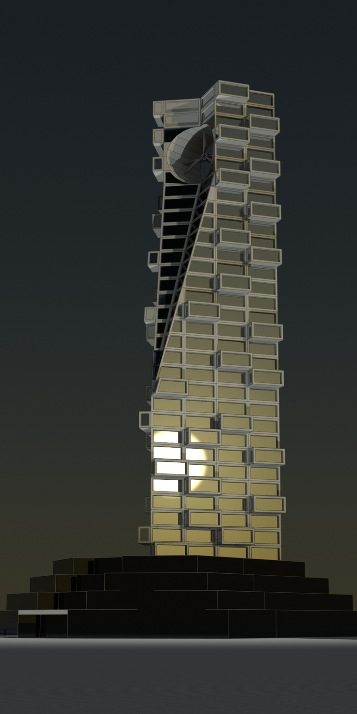 wind tower / architectural proposal