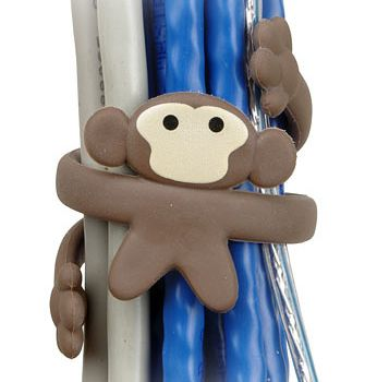 Cable Monkey: Cable Organizers, Office, Geek, Ideas, Cord Control, Monkey Cable, Gadgets, Cable Monkey