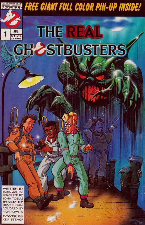 The Real Ghostbusters is a comic series spun off from the The Real Ghostbusters animated series. Versions were published by Marvel UK and NO...