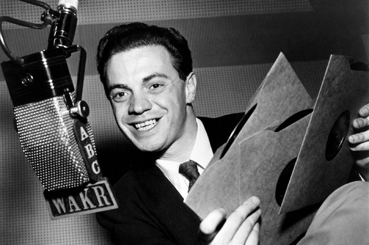 Alan Freed!  The man who possibly did more for vinyl and coined the term Rock and Roll