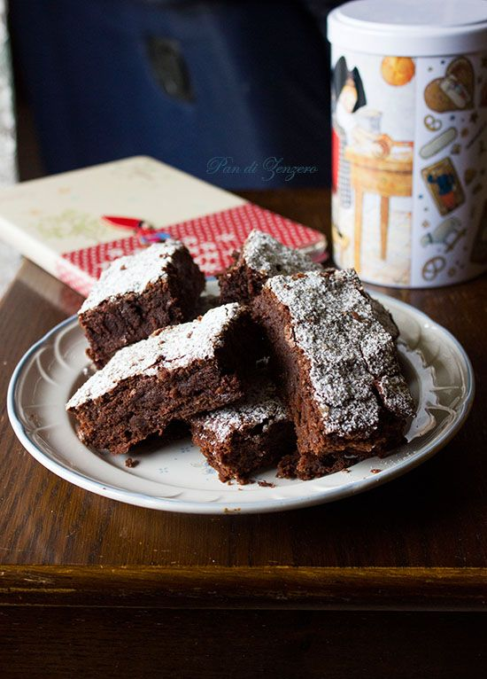 Brownies fondenti Cioccolato&Arancia