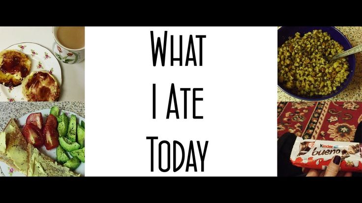 What I Ate Today | MICHELA ismyname ♥