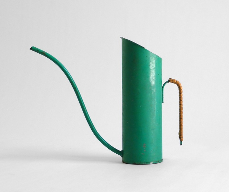 Vintage Green Watering Can