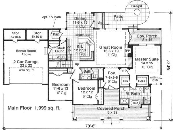 Main Floor Plan: 38-503