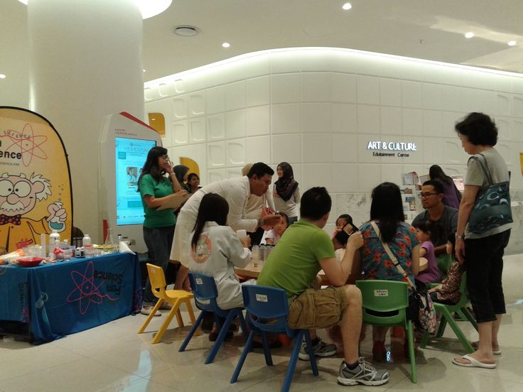Learn science by having fun @FunScience_Ind -Lab in shopping mall