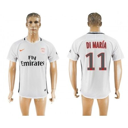 Paris Saint Germain PSG 16-17 Angel #di Maria 11 TRödjeställ Kortärmad,259,28Kr,shirtshopservice@gmail.com