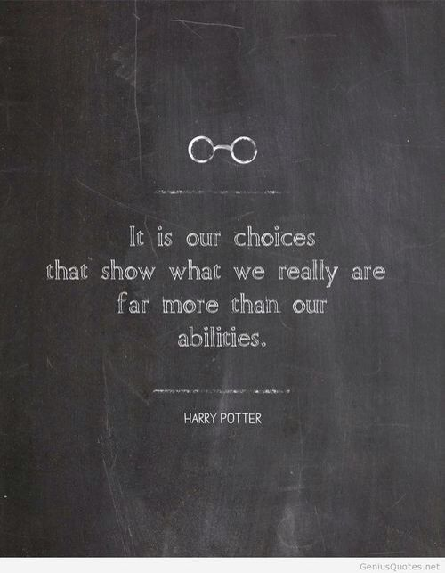 Harry Potter quotes More