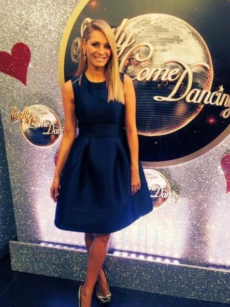 Gorgeous Suzannah dress on Tess Daly