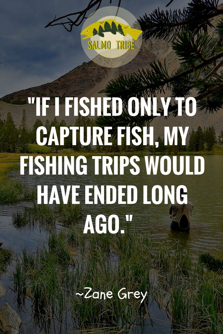 A great quote about fishing and about the joy it brings to us. No matter what your favorite fishing style is, this quote works well