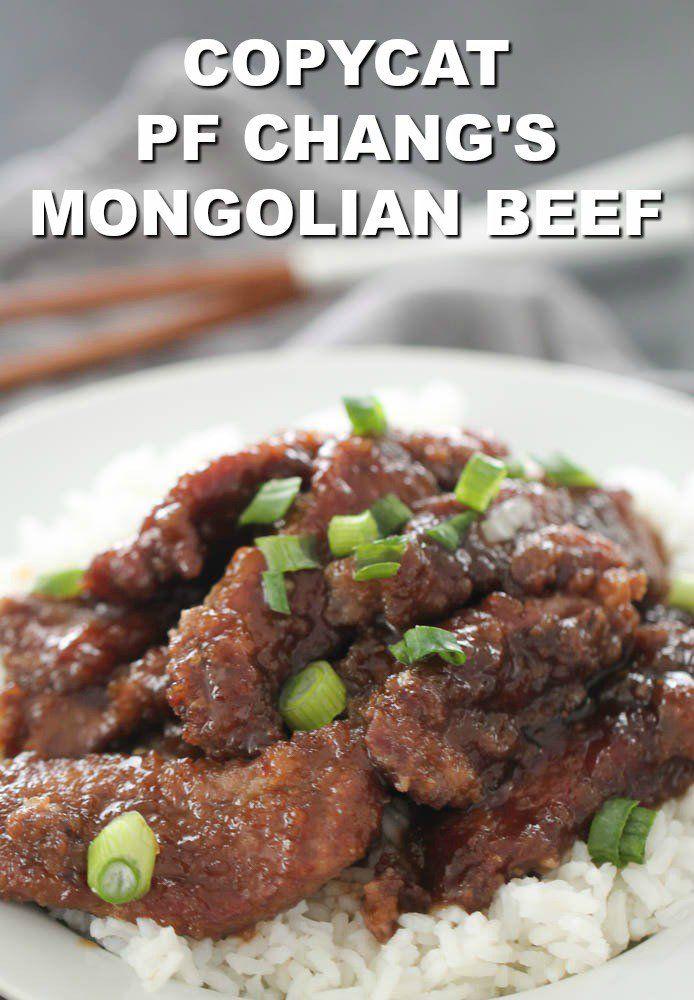 P F Chang S Mongolian Beef Copycat Recipe In 2020 Mongolian