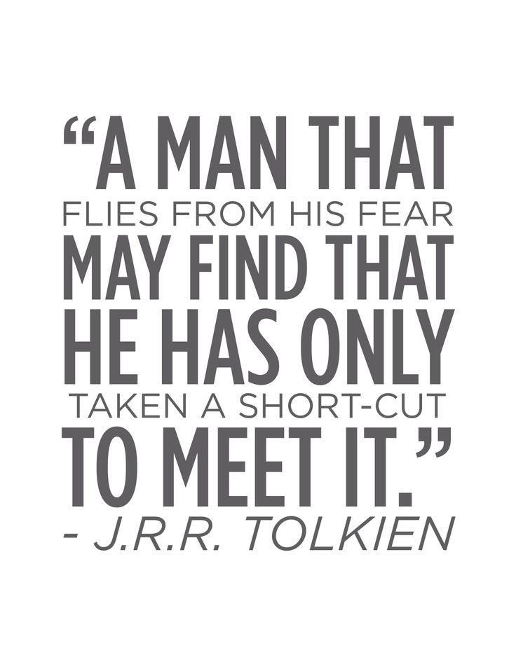 Tolkien quote Inspirational Pinterest