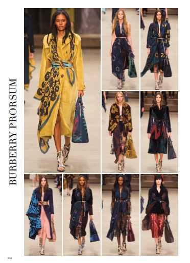 Burberry Prorsum, the bloomsbury girls. @Burberry #burberryprorsum #pretaporter #fashion #catwalk #style #look #fashionshow #london #fall #winter #2014 #2015