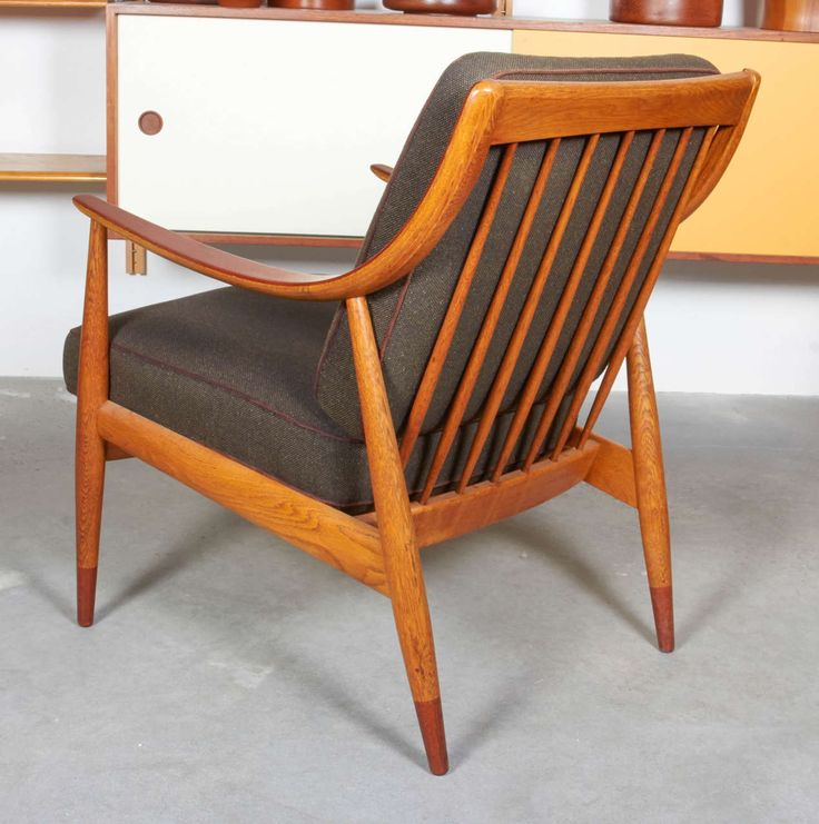 Armchair, Model FD-146, by Peter Hvidt & Orla Mølgaard Nielsen | From a unique collection of antique and modern armchairs at https://www.1stdibs.com/furniture/seating/armchairs/