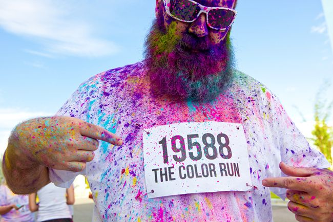 I want to do this ColorRun