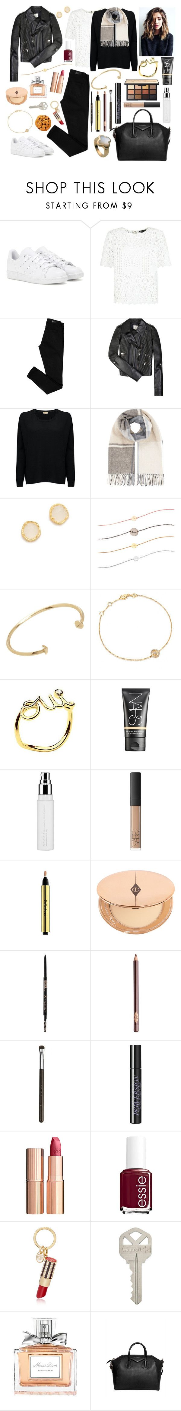 """05-02-2017"" by belledenuit ❤ liked on Polyvore featuring adidas, New Look, Paige Denim, CÉLINE, American Vintage, Accessorize, Tai, Astley Clarke, Jennifer Fisher and Van Cleef & Arpels"