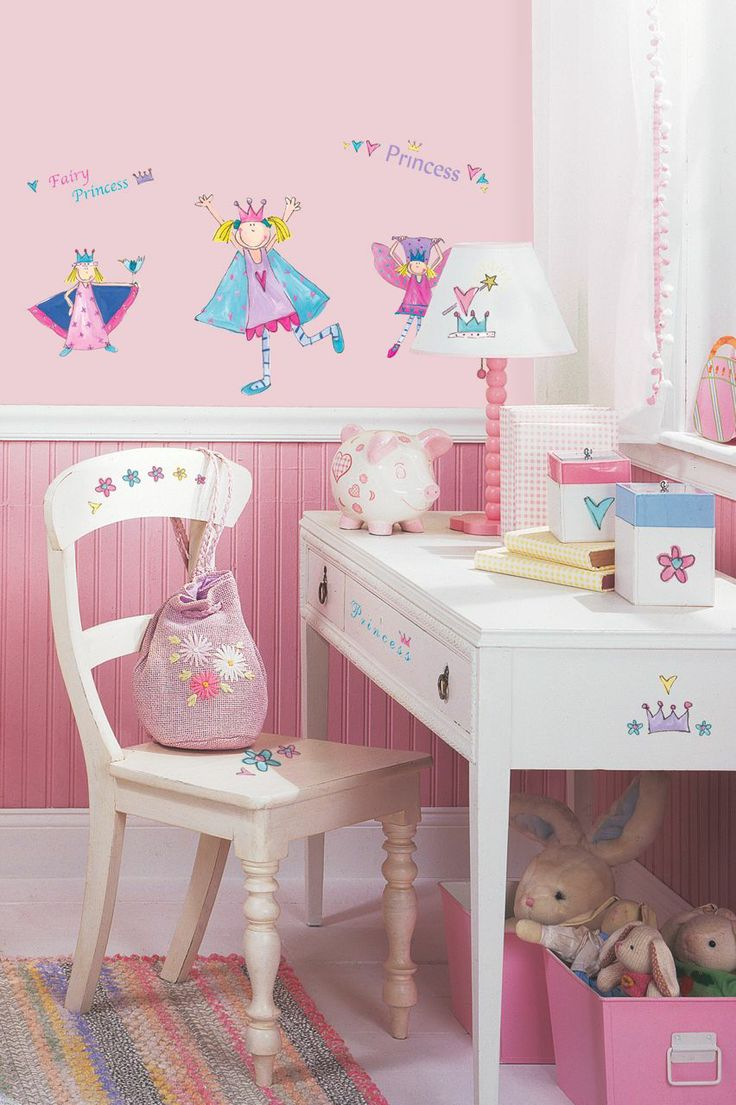 114 best girls wall decals images on pinterest bedroom ideas fairy princess wall decals