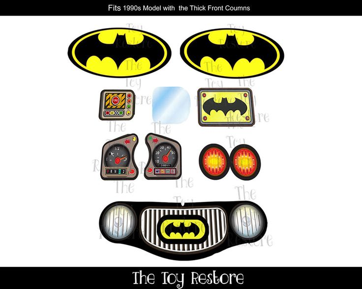 Batman Inspired New Replacement Decals Stickers for Little Tikes Cozy Coupe Car in Toys & Hobbies, Wholesale Lots, Other Wholesale Toy Lots | eBay