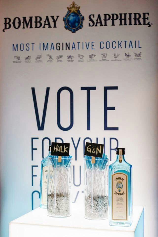 Vote hulk or gin, for bombay sapphire.